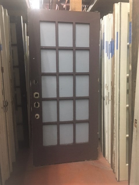 15 Light Exterior Doors [JN18-8]