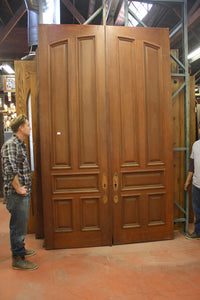 5 Panel Mahogany Door Set [JP15-174]