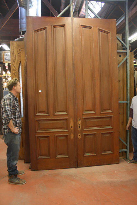 Five Panel Mahogany Door Set [jp15-174]