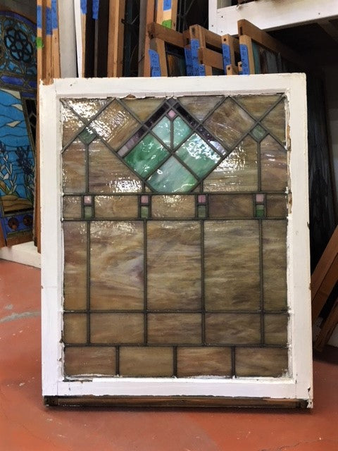 Arts & Crafts Stained Glass Windows [JUL18-102]