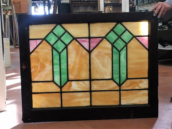 Arts & Crafts Stained Glass Window [OC-19]