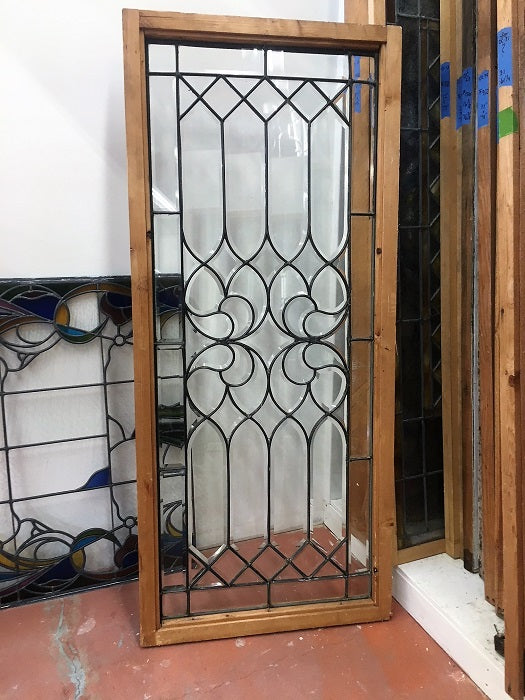Beveled Leaded Glass Window [OC-58]