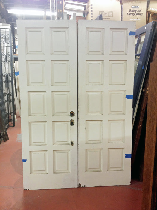Pair Paneled Entry Doors [Z-RP2]