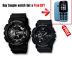 GSHOCK BLACK COUPLE WITH FREE NOKIA MOBILE PHONE