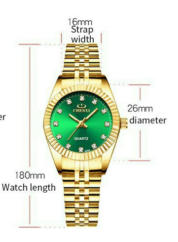 Chenxi  lady Women's Gold steel watch ⭐⭐⭐⭐⭐