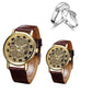 Shard Brand Luxury Couple watch Free Couple Ring ⭐⭐⭐⭐⭐