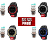 DASH New Design Fashion Sports Watch (Water Proof) BUY ONE GET TWO FREE