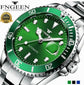 FNGEEN  Mechanical Luminous Automatic watch Green  ⭐⭐⭐⭐⭐