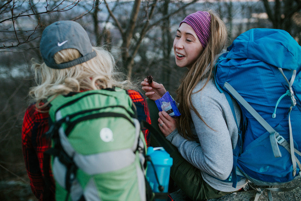Backpacking and Snacking