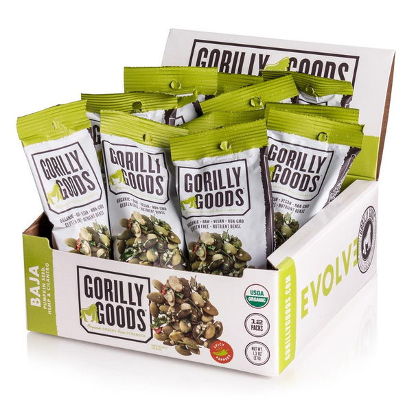 1.3oz Baja - Spicy Lime Pumpkin Seeds + Cilantro (6-pack)