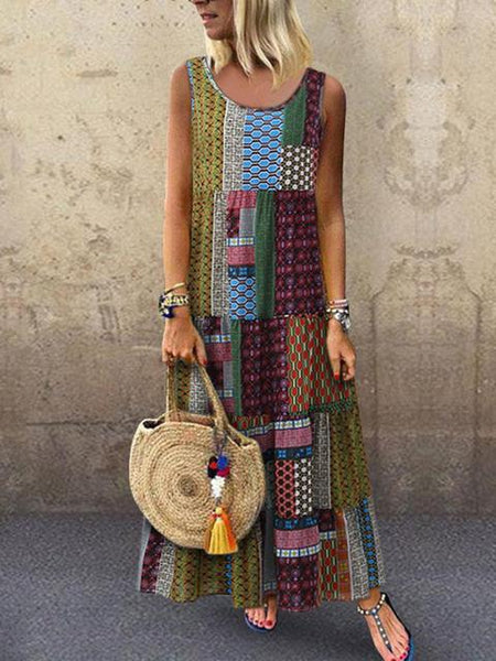 boho-sleeveless-vintage-maxi-dress