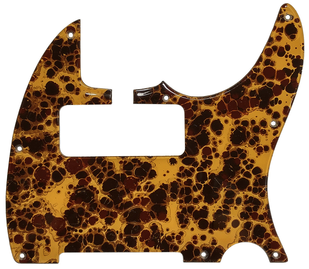 Bacchus Global Series Tactics PLD Pickguard Honey Acrylic Shell