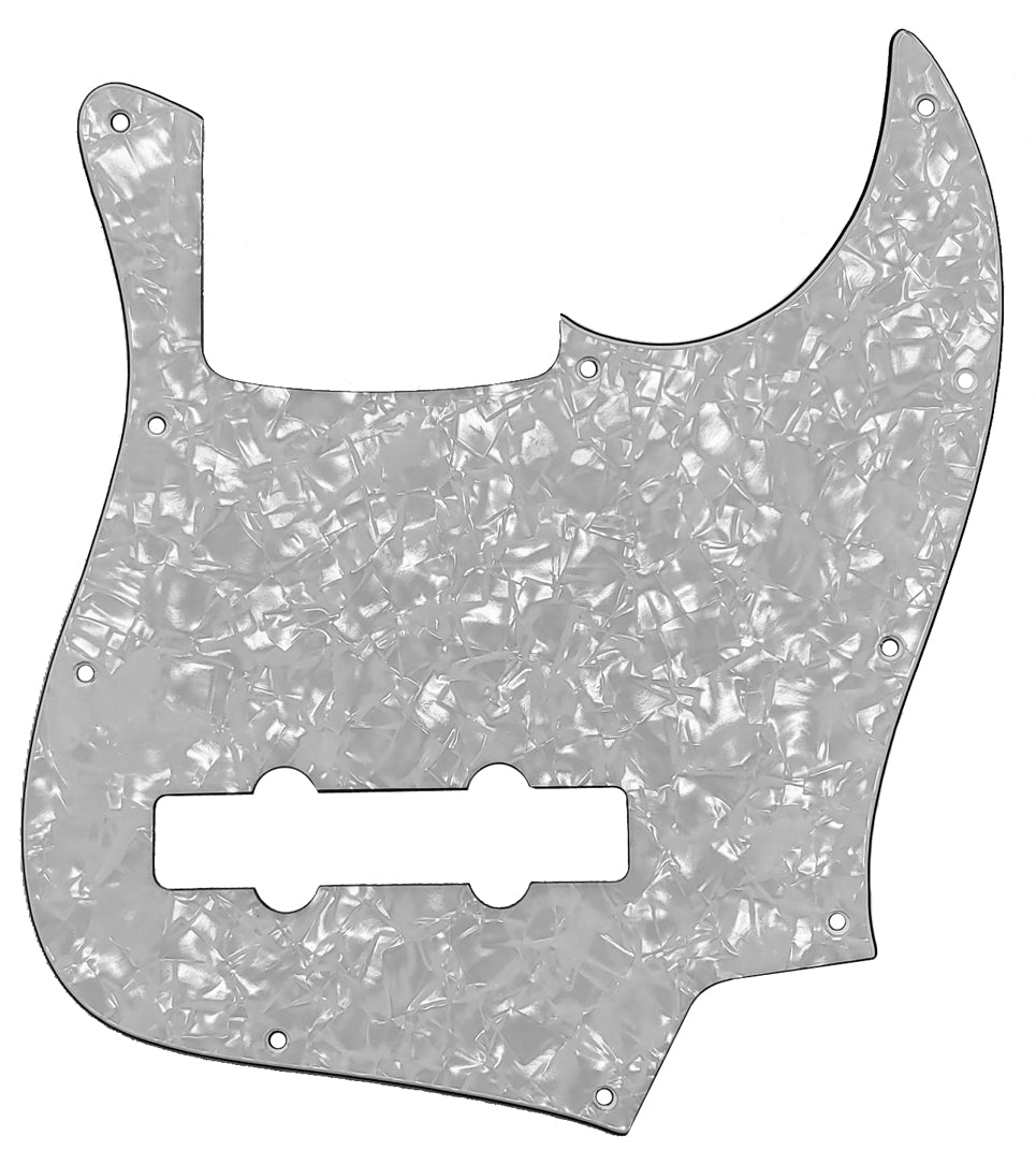 Bass Mods K534 Pickguard White Pearloid