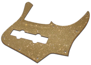 Bass Mods K524 Pickguard Gold Sparkle