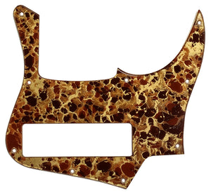 Bass Mods K524 Pickguard Gold Acrylic Shell