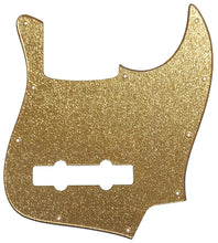 Fender Jazz Bass Pickguard Gold Sparkle