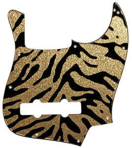 Bass Mods K534 Pickguard Gold Sparkle Tiger