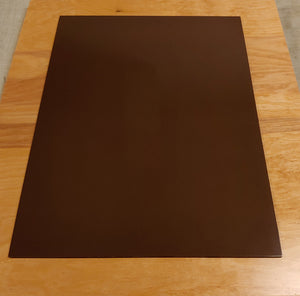 Pickguard Blank Sheet Brown Bakelite