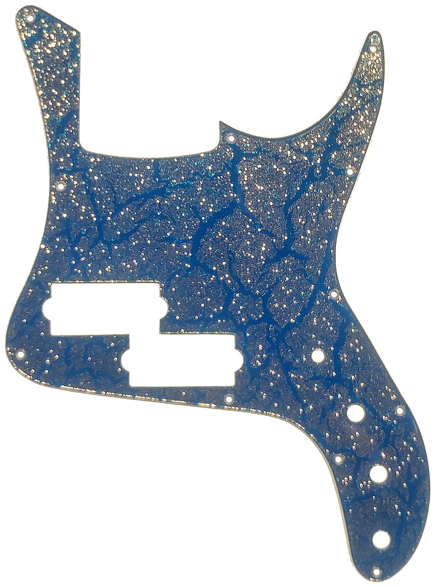 Carvin PB5 Blue Crackle Gold Sparkle