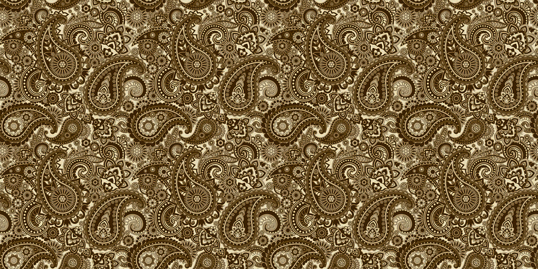 Pickguard Sheet Cream Paisley
