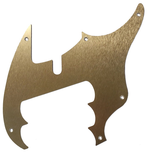 Dingwall Combustion NG2, NG3 Pickguard Anodized Gold