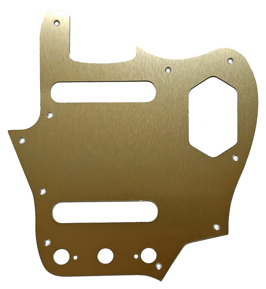 Fender Jaguar Anodized Gold Pickguard