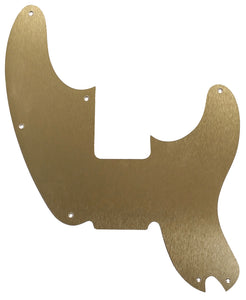 Fender Precision 51 Pickguard Anodized Gold Aluminum