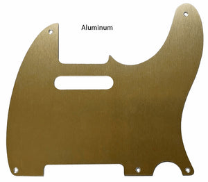 Fender Telecaster Pickguard Anodized Gold