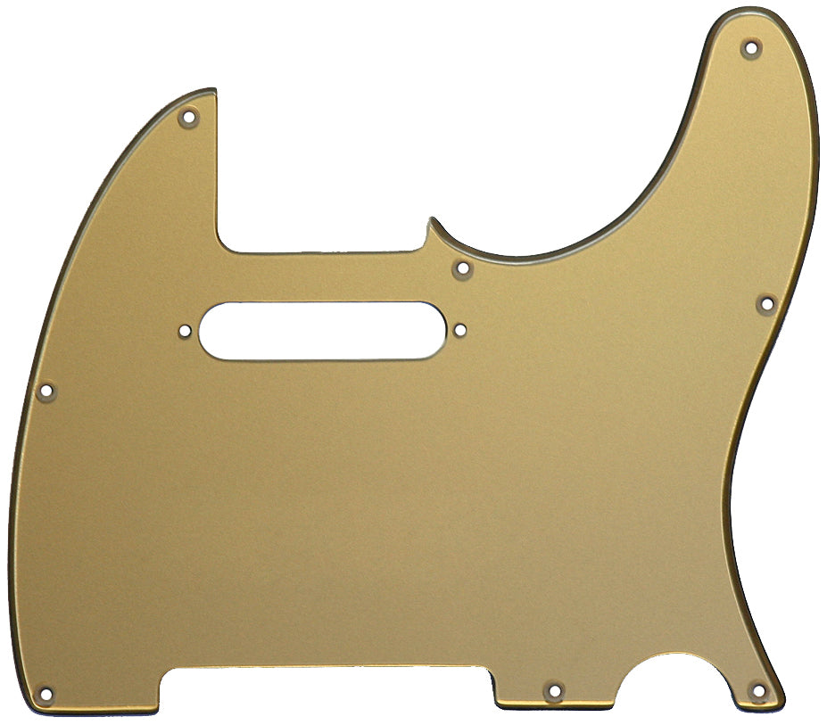 Fender Telecaster Pickguard Gold Acrylic