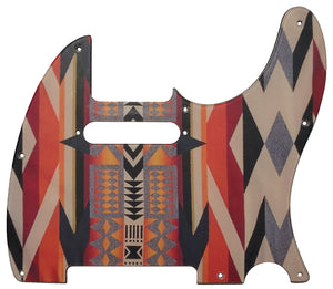 Fender Telecaster Pickguard American Indian Blanket