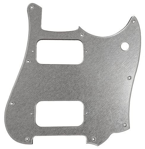 Fender Cyclone Pickguard Silver Brushed Acrylic
