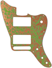 Fender Jaguar FSR HH Copper Patina Pickguard & Control Plate One Piece