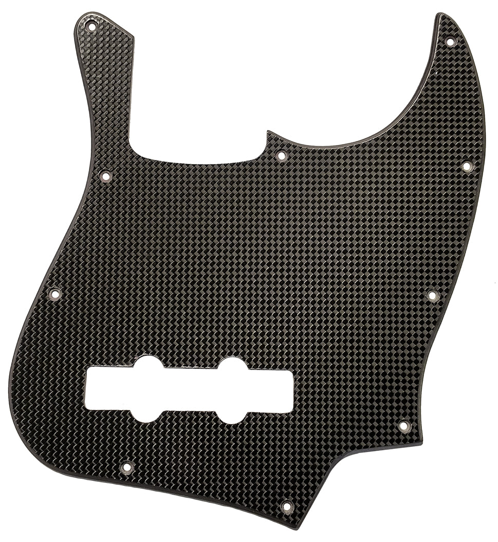 Fender Jazz Bass Pickguard Carbon Fiber
