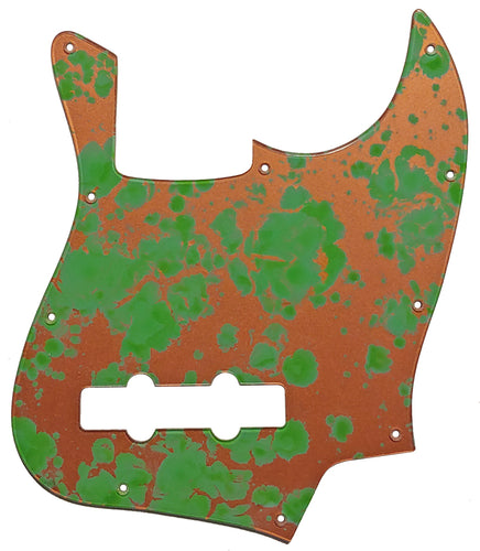 Bass Mods K534 Pickguard Copper Patina