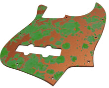 Fender Jazz Bass Pickguard Copper Patina
