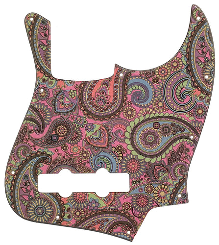 Bass Mods K534 Pickguard Psychedelic Paisley