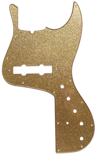 Fender Jazz Marcus Miller Bass Pickguard Gold Sparkle