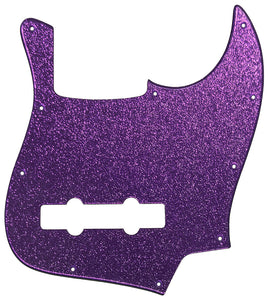 Fender Jazz Bass Pickguard Purple Sparkle