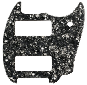 Fender Mustang 90 Pickguard Black Pearloid
