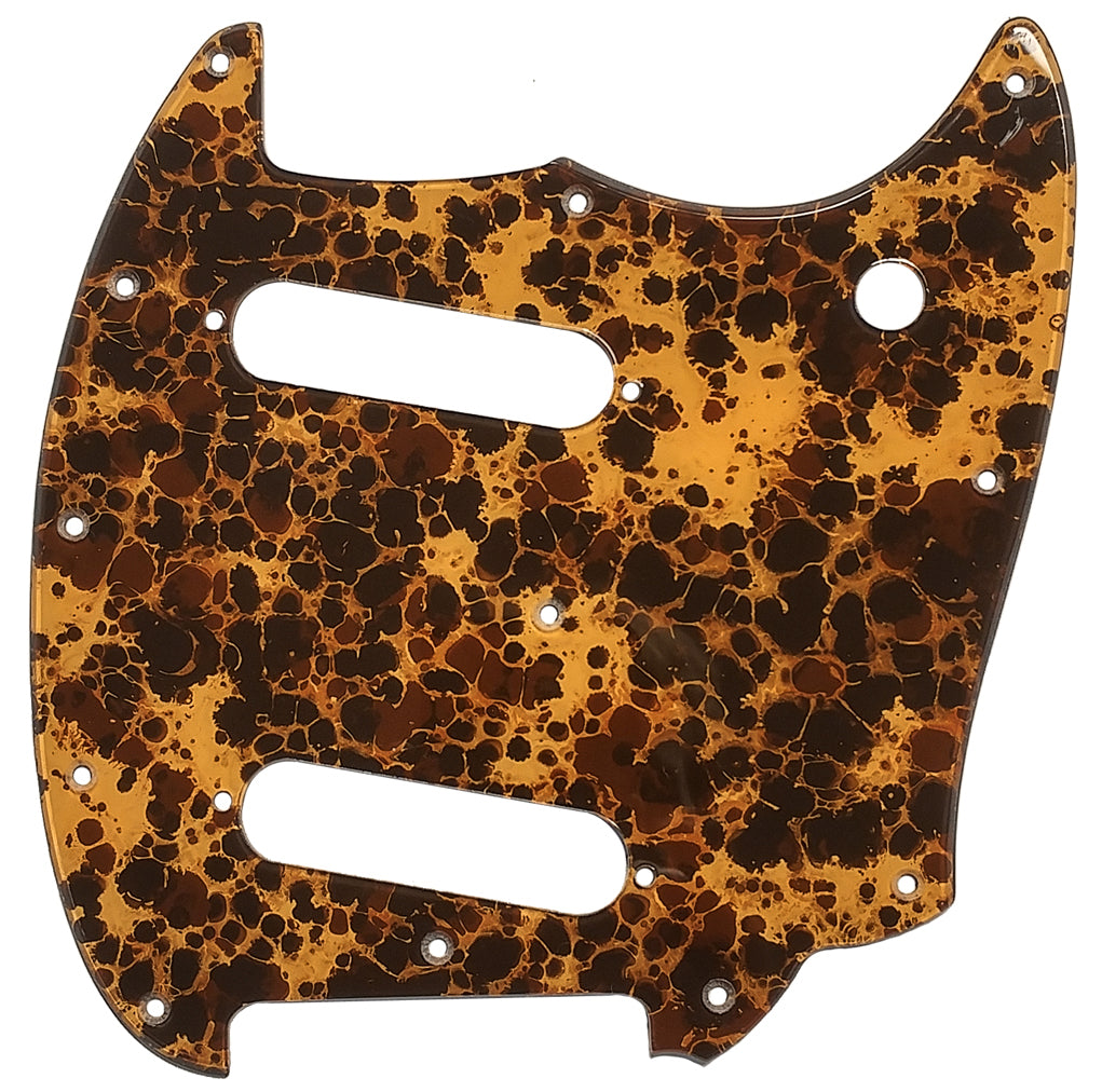 Fender Mustang Pickguard Honey Acrylic Shell