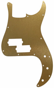 Fender Precision Pickguard Anodized Gold Aluminum
