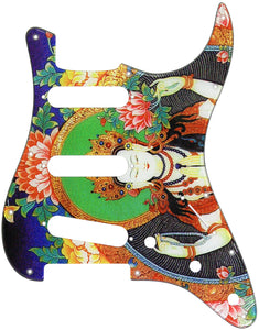Fender Stratocaster Buddhist God Pickguard