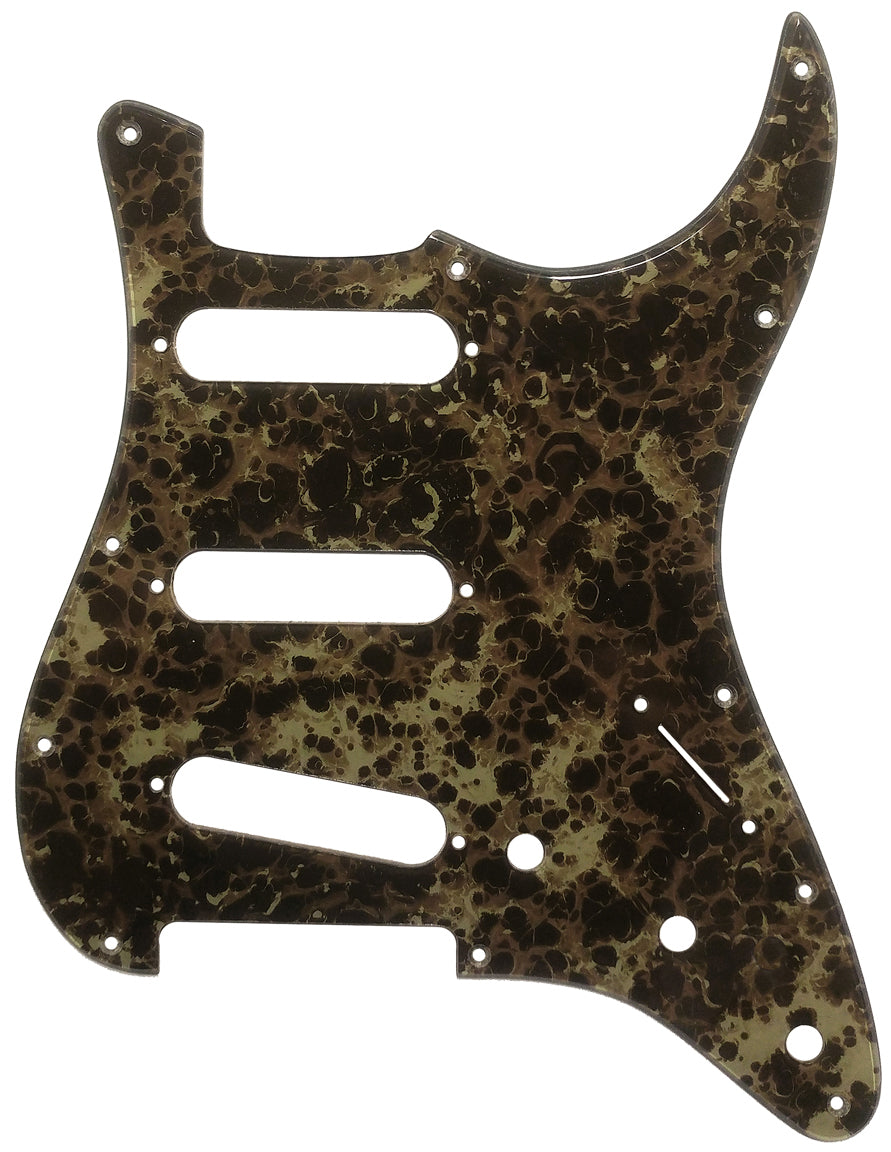 Fender Stratocaster Camouflage Acrylic Shell Pickguard