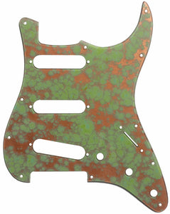 Fender Stratocaster Copper Patina Pickguard