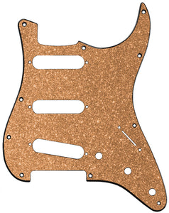Fender Stratocaster Copper Sparkle Pickguard
