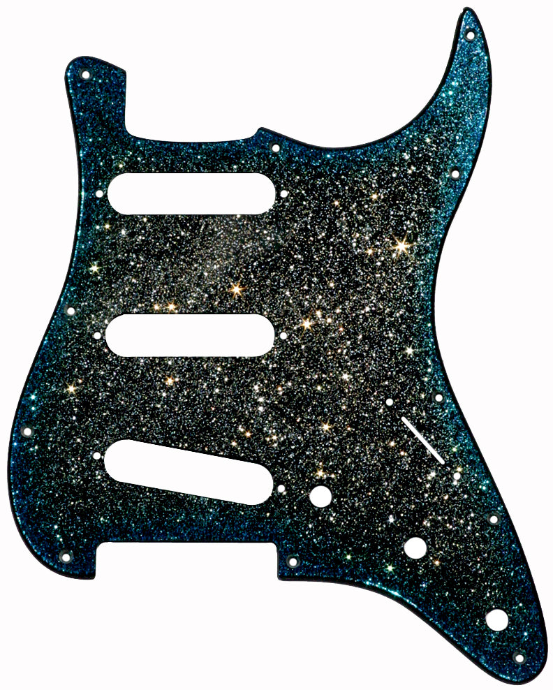 Fender Stratocaster Midnight Sky Pickguard