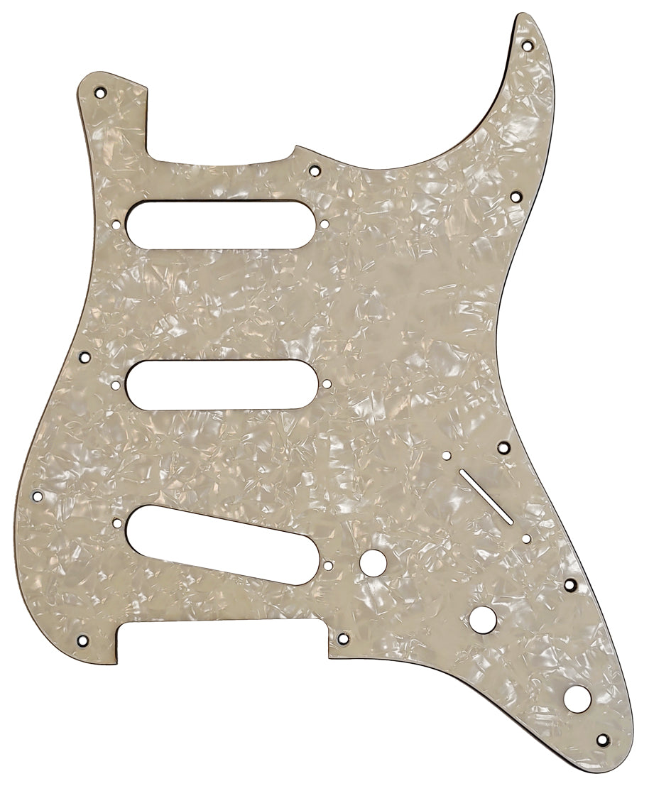 Fender Stratocaster Cream Pearloid Pickguard
