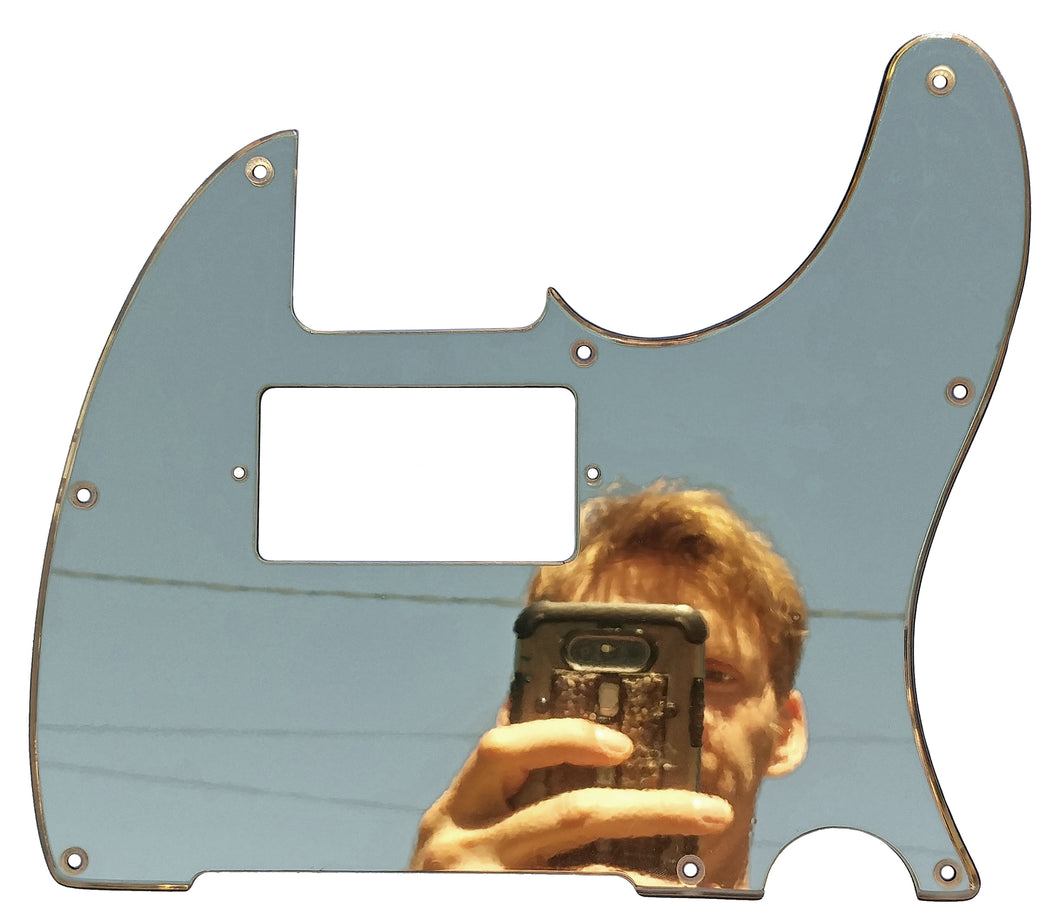Fender Telecaster Pickguard Chrome Mirror