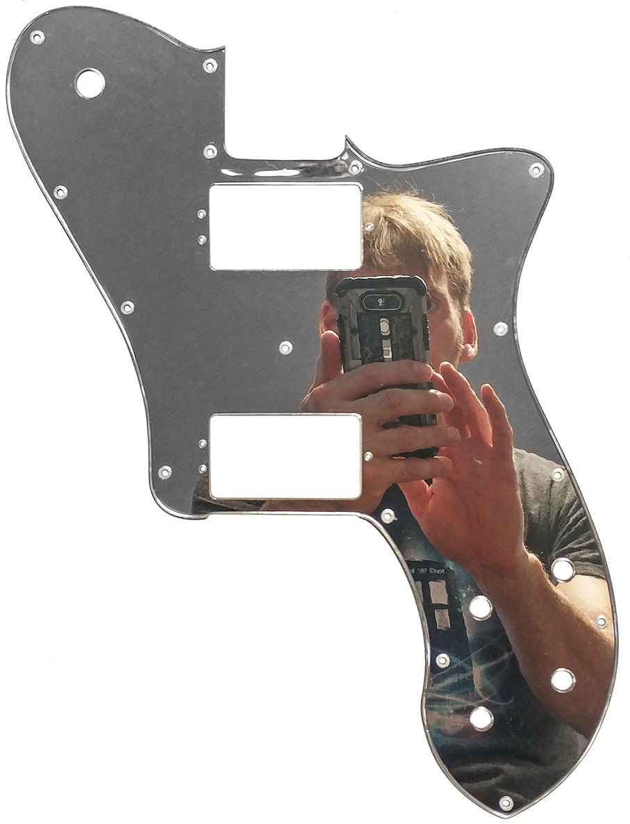 Fender Tele Deluxe Shawbucker American Professional Pickguard Chrome Plated