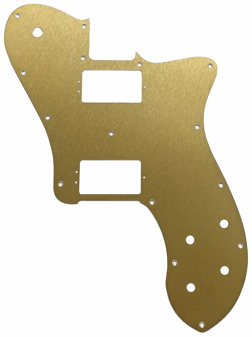 Fender Tele Deluxe Shawbucker American Professional Pickguard Anodized Gold
